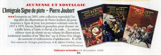 Article Valeurs Actuelles 12-08 albums PJ SDP